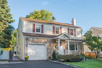 Cranford Twp. Single Family Home For Sale: 38 Balmiere Pkwy