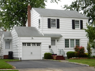 Clark Twp. NJ Single Family Home For Sale: $359,000
