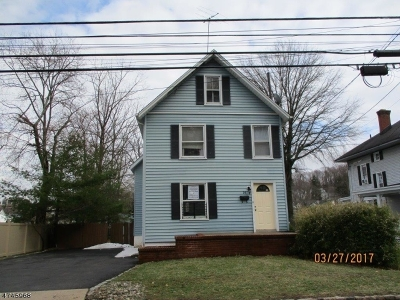 Morristown Town NJ Single Family Home For Sale: $244,400