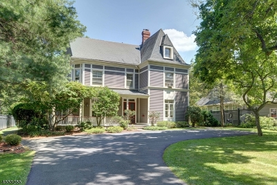 Summit City Single Family Home For Sale: 5 Madison Ave