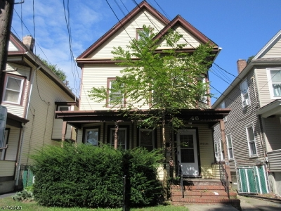 Morristown Town NJ Multi Family Home For Sale: $162,900