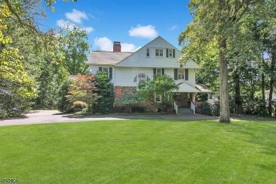 Millburn Twp. NJ Single Family Home For Sale: $2,175,000