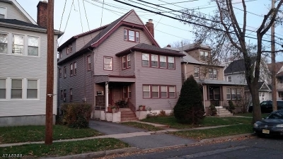 Essex County, Morris County, Union County Multi Family Home For Sale: 41 Elmwood Ave