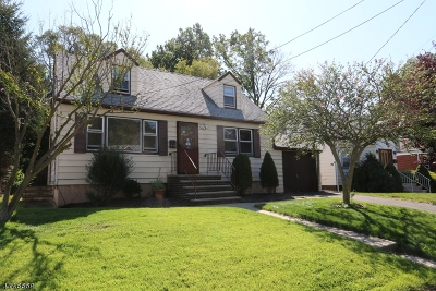 Union Twp. NJ Single Family Home For Sale: $259,000