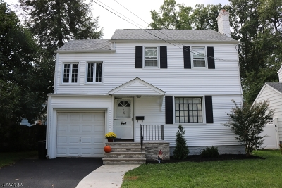Roselle Park Boro Single Family Home For Sale: 726 Woodland Ave