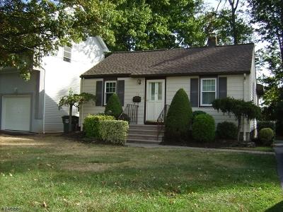 Woodbridge Twp. Single Family Home For Sale: 72 Tappen St