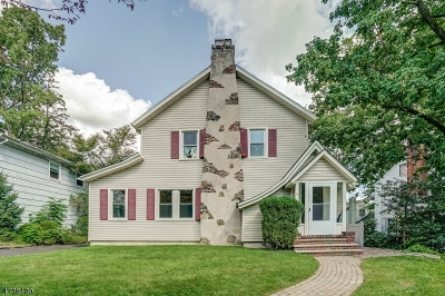 Millburn Twp. NJ Single Family Home For Sale: $699,000