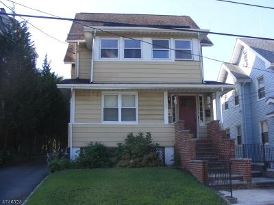 West Orange Twp. Multi Family Home For Sale: 12 Orange Pl