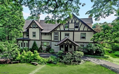 Millburn Twp. NJ Single Family Home For Sale: $1,699,000
