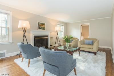 Millburn Twp. NJ Single Family Home For Sale: $1,298,000