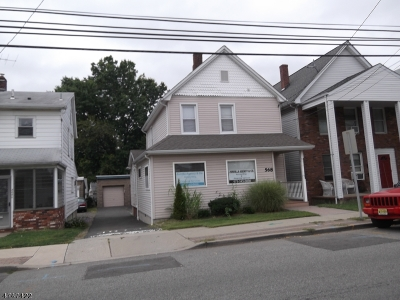 Hawthorne Boro NJ Multi Family Home For Sale: $339,900