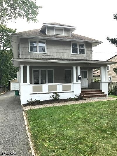 Livingston Twp. Single Family Home For Sale: 12 Harding Pl
