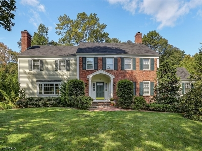 Chatham Twp. Single Family Home For Sale: 114 Westminster Rd