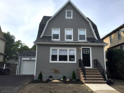 Maplewood Twp. Single Family Home For Sale: 27 Wetmore Ave