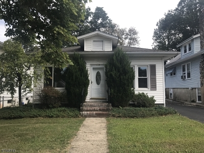 Boonton Town Single Family Home For Sale: 314 Dawson Ave