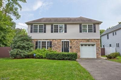 Millburn Twp. NJ Single Family Home For Sale: $805,000