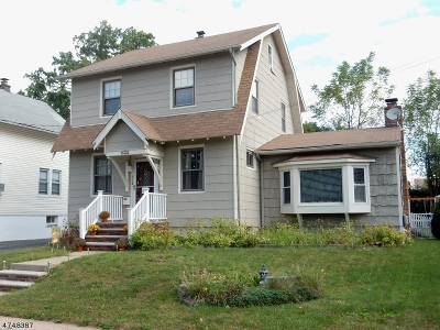 Linden City NJ Single Family Home For Sale: $329,900