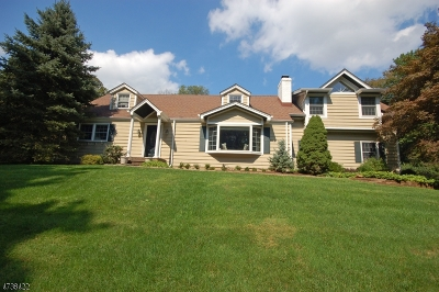 WATCHUNG Single Family Home For Sale: 35 Evergreen Ln