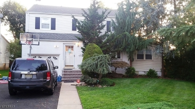 Hillside Twp. Single Family Home For Sale: 856 Jerome Ave