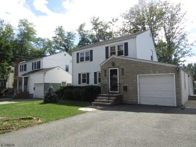 West Orange Twp. Single Family Home For Sale: 7 Hooper Avenue