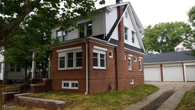 Hillside Twp. Single Family Home For Sale: 349 Rutgers Ave
