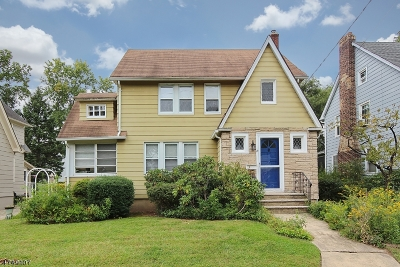 Cranford Twp. NJ Single Family Home For Sale: $549,000