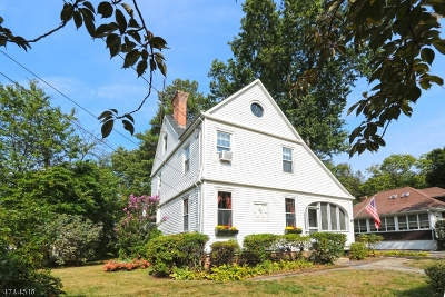 Nutley Twp. Single Family Home Active Under Contract: 42 Maple Pl