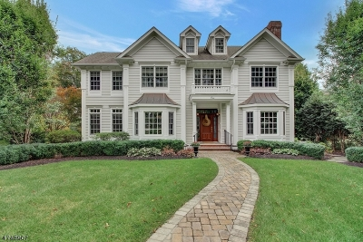 Chatham Twp. Single Family Home For Sale: 1 Warwick Rd