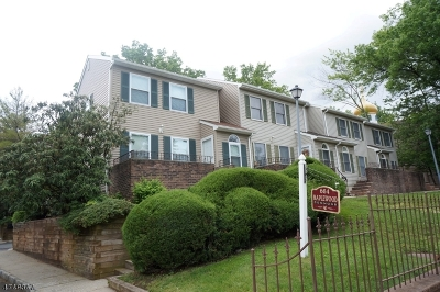 Maplewood Twp. Condo/Townhouse For Sale: 660-666 Irvington Ave