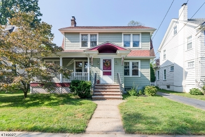 Cranford Twp. Single Family Home For Sale: 320 High St