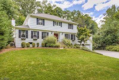 Millburn Twp. Single Family Home For Sale: 88 White Oak Ridge Rd