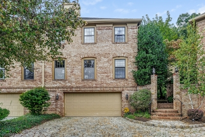 Florham Park Boro Condo/Townhouse For Sale: 3 Dearburn Ct