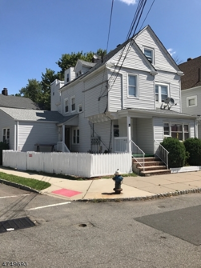West Orange Twp. Multi Family Home For Sale: 5 Joyce St