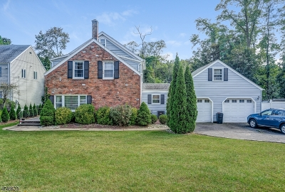 Mountainside Single Family Home For Sale: 1523 Long Meadow