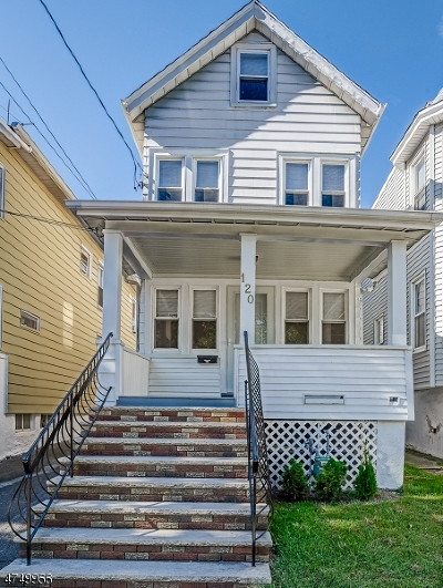 ROSELLE PARK Single Family Home For Sale: 120 Columbus Pl