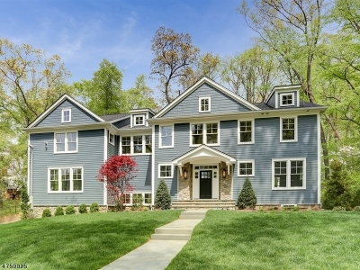 Chatham Twp Single Family Home For Sale: 34 Sandy Hill Rd