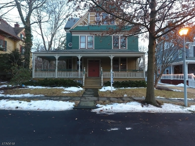 Morristown Town Single Family Home For Sale: 14 Farragut Pl