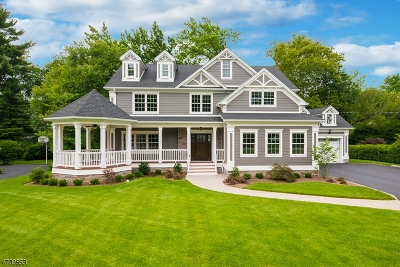 Westfield Town Single Family Home For Sale: 756 Scotch Plains Ave