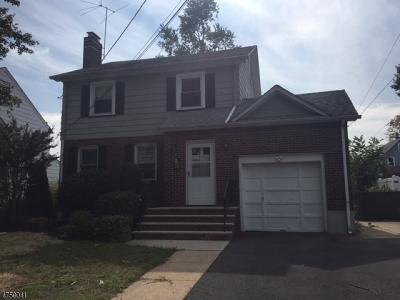 ROSELLE PARK Single Family Home For Sale: 318 Bender Ave