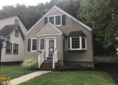 Roselle Park Boro Single Family Home For Sale: 174 W Colfax Ave