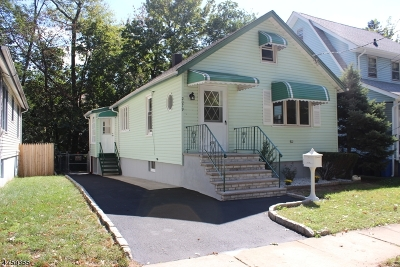 RAHWAY Single Family Home For Sale: 2079 Allen St