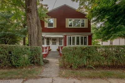 Rahway City Multi Family Home For Sale: 774 Linden Ave