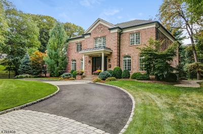 Millburn Twp. Single Family Home For Sale: 12 Shirlawn Dr