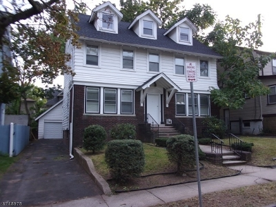Newark City NJ Single Family Home Under Contract: $258,900