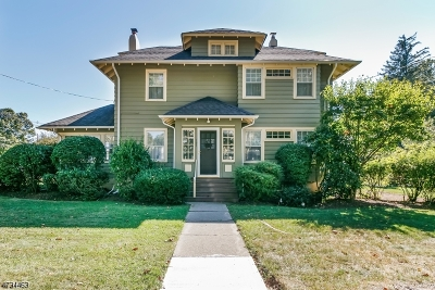 WESTFIELD Single Family Home For Sale: 719 Prospect St
