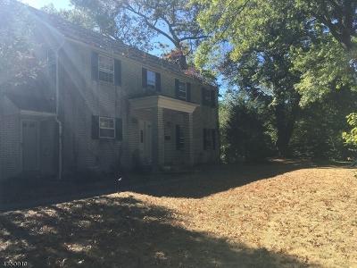 Millburn Twp. Single Family Home For Sale