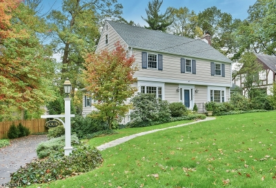 Summit City Single Family Home For Sale: 4 Manor Hill Rd