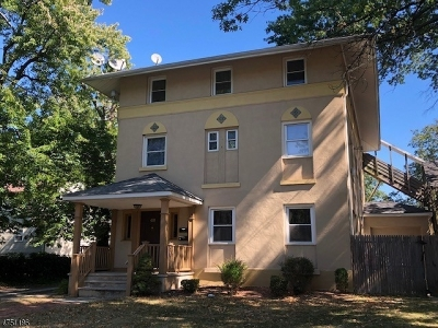 Roselle Boro Multi Family Home For Sale: 411 Chestnut St #3