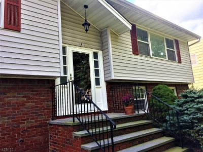 Parsippany-Troy Hills Twp. Single Family Home For Sale: 17 McNeile Dr