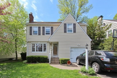 Cranford Twp. Single Family Home For Sale: 3 Craig Pl